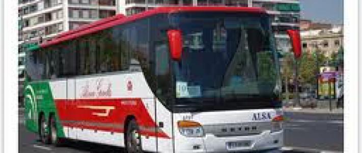 Linea de Autobuses ALSA, todas las direcciones