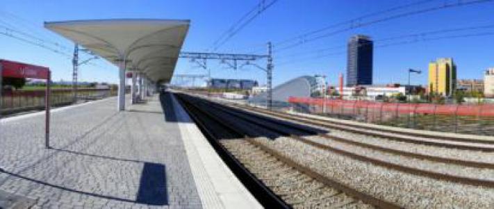 Estacion De Renfe La Garena