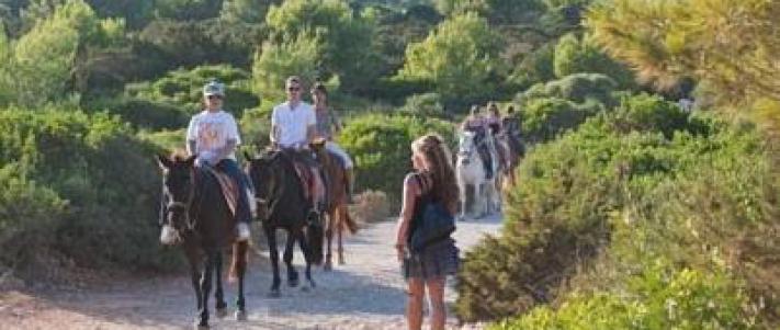 horse riding cala d'or | mallorca, Hause und Garten