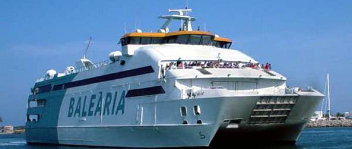 Bateaux et ferrys de et pour Majorque, îles Baléares, Espagne