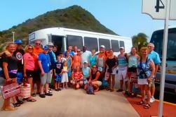 Excursión de la costa de St Maarten: Excursión de la isla con compras