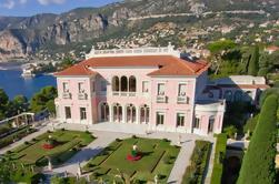Tour privado de medio día de la Villa y el Jardín de Ephrussi de Rothschild y la Villa Kerylos de Niza