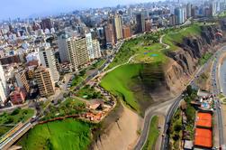Tour en bicicleta de Lima: A lo largo de los acantilados y de la caminata de El Morro