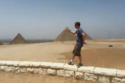 Visita a las Pirámides de Giza y Museo Egipcio