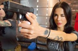 Paquete de disparos de armas de mano en Las Vegas