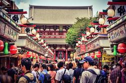 Hola recorrido de Tokio: Meiji Jingu, Senso-ji y Harajuku