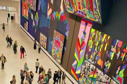 Passeio a pé de meio dia em Berlim: cena da galeria com um historiador de arte