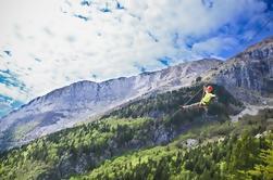 Zipline en Eslovenia