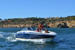 Private Speedboat Leie med Crew fra Albufeira