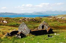 Isla mágica de Inishbofin en la costa de Connemara de Galway incluyendo almuerzo