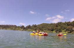 Canotaje en el lago Furnas