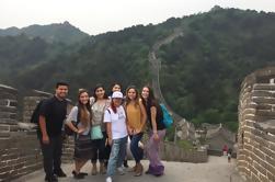 Small Group Mutianyu Grote Muur en de Ming-graven Tour met Lunch