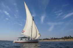 2 horas de paseo de Felucca en el río Nilo desde El Cairo