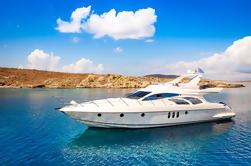 62 'Azimut Yacht Charter con el capitán y el compañero