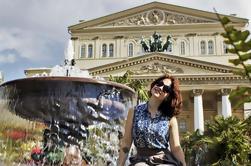 Praça Vermelha de Moscovo e Teatro Bolshoi