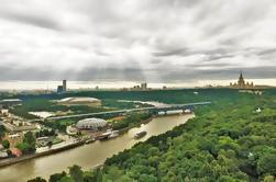 Moscow Driving Tour com as melhores plataformas de observação