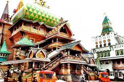 Izmaylovo Mercado de Pulgas y el Kremlin en Izmaylovo