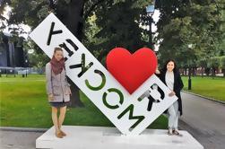 Moscovo Tour de Layover: Visita de cidade privada
