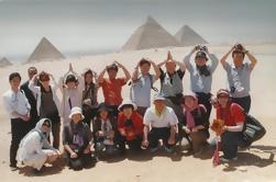 Pyramids Day of Cairo: Pirâmides de Cheops, Chephren e Mycerinus