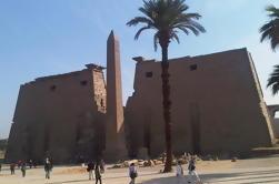 Dia de viagem: Luxor Leste e Oeste bancos com guia profissional privado e almoço