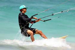 Lección de kitesurf en grupo en Tulum