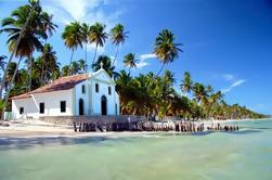 Playa de Carneiros y Iglesia de San Benito desde Recife