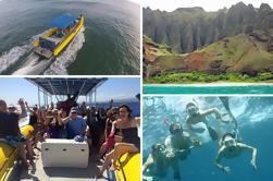 Snorkel y visita turística en el Na Pali Explorer
