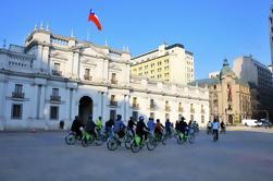 Excursión en bicicleta por los parques de Santiago