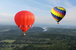 Paseo del globo del aire caliente del condado de Bucks