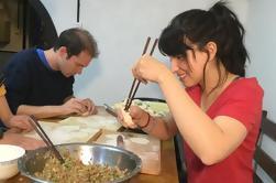 Chinois, traditionnel, boulettes, faire, expérience, Beijing
