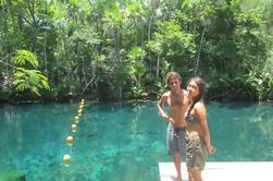 Parque de Tankah Cinco Cenotes Adventure Tour desde Tulum