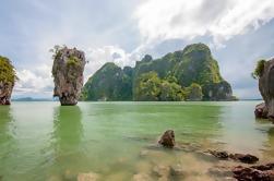Excursión de canoa y buceo en lancha de James Bond Island en Phuket