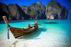 Isla de Phi Phi Viaje temprano del pájaro incluyendo la bahía de Maya y la isla de bambú de Phuket