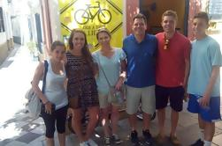 Excursão elétrica da bicicleta em Sevilha