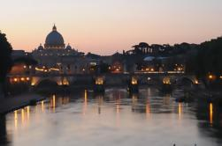 Passeio à noite de Roma com aperitivo