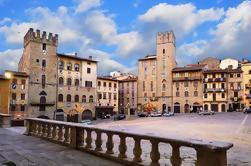 Excursión de grupo pequeño de Cortona y Arezzo desde Roma