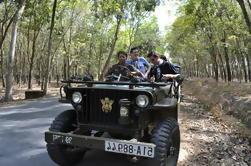 Túneles de Cu Chi de medio día por Jeep de Ho Chi Minh
