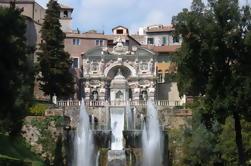 Autodireccionamiento de Tivoli y Villa d'Este desde Roma
