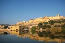 Tour de Jaipur de todo el día, incluido el Fuerte Amber y el Palacio de la Ciudad con Almuerzo