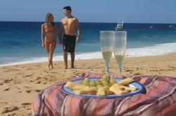 Escapada romántica en Cabo San Lucas: Snorkel y fondo de cristal en barco
