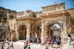 Ancient Ephesus tour com a mãe de Mary House e visita à antiga aldeia Sirince com degustação de vinhos