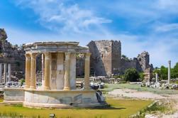 Antiguas ciudades de Side y Aspendos y Kursunlu Cascada de Alanya