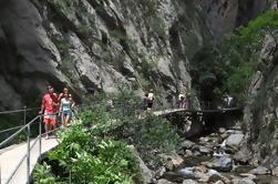 Excursión turca al pueblo incluyendo el cañón de Sapadere y la cueva de Goblin de Alanya