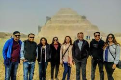Excursión privada de día guiada a Pirámides de Giza y Saqqara