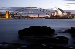 Excursão da fotografia de DSLR2 do por do sol de Sydney