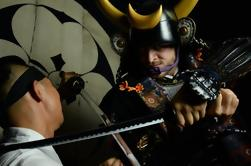 Samurai armadura de fotos en Shibuya