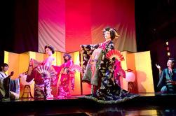 Oiran Cabaret Show en Kaguwa en Roppongi