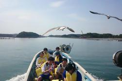 2 días de pesca y experiencia de ciclismo con guía en Oku-Matsushima incluyendo billete de tren de ida de Tokio