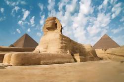 Excursão de um dia em grupo para as pirâmides e museus de Gizé