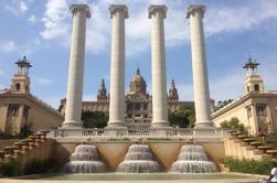 Visite privée Montjuic avec visite au Parc olympique et Plaza España